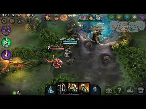 Steam Knight Tony Devastation - Vainglory Gameplay