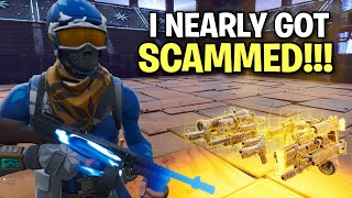 I nearly got scammed on my birthday! 😔 (Scammer Get Scammed) Fortnite Save The World