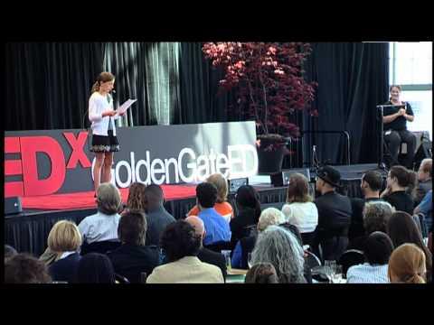TEDxGoldenGateED Elle McDougald