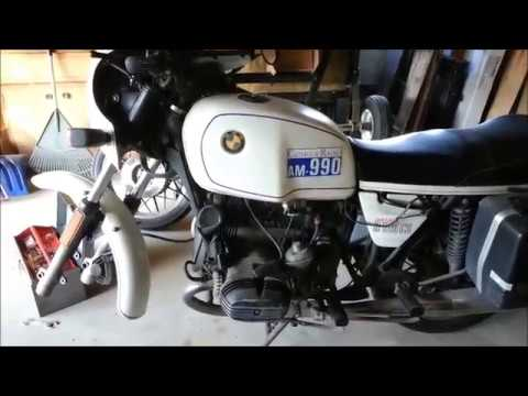 BMW R100CS fork seal replacement