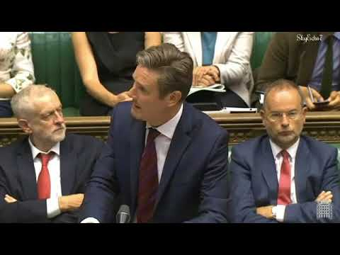 BrExit: EU Withdrawal Bill (Repeal Bill) Keir Starmer 7 Sep 2017 [3]