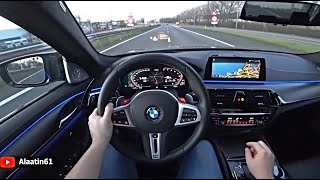 The New BMW M5 Competition LCI 2021 Test Drive