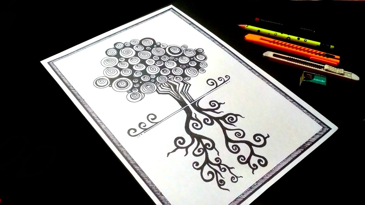 Mandala Art for Beginners | How to make mandala art easy