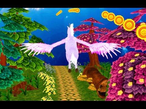 Unicorn Dash Fly Pegasus 3D - Hourse Run