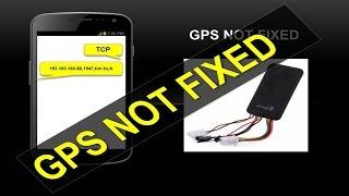 """RASTREADOR GT06 COM PROBLEMA: """"""""""""""""GPS NOT FIXED!"""""""""""""""
