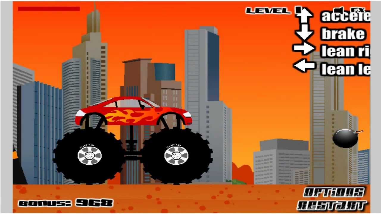 Monster Truck Games Monster Truck Destroyer Youtube