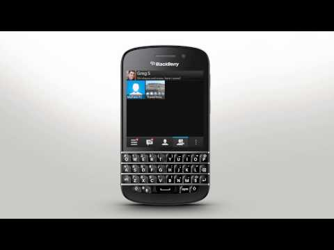 Getting Started With Bbm Blackberry Q10