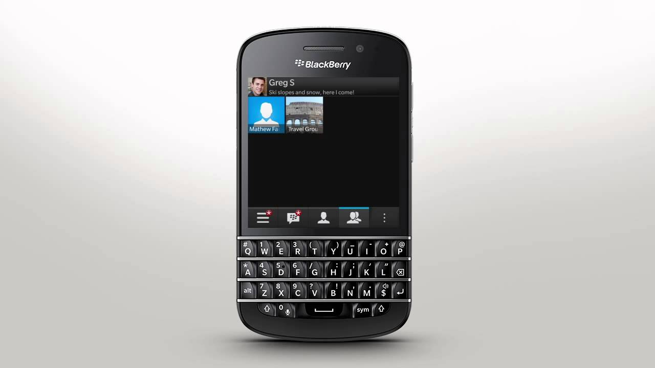 Getting Started with BBM: BlackBerry Q10 - Official How To Demo