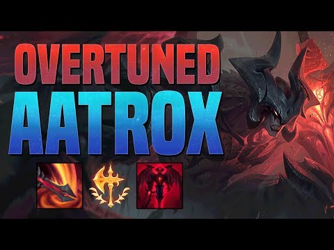 THIS CHAMPION IS SO OVERTUNED!! - Season 9 Aatrox Guide - League of Legends