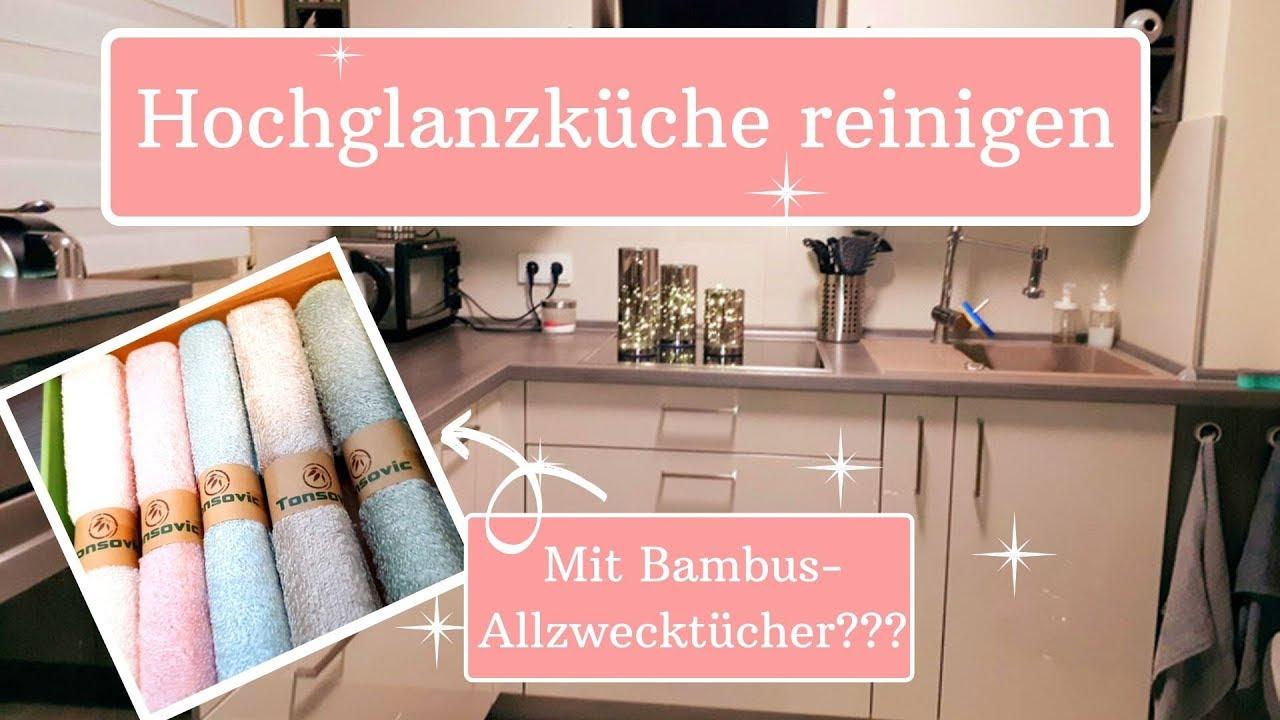 🌸💦Hochglanzküche reinigen Putzroutine Küche Putz Tipps