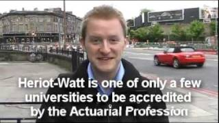 Five Good Reasons to Study Actuarial Science at Heriot-Watt University thumbnail