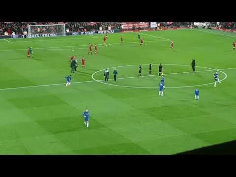 YNWA Liverpool vs Chelsea 25/11/2017