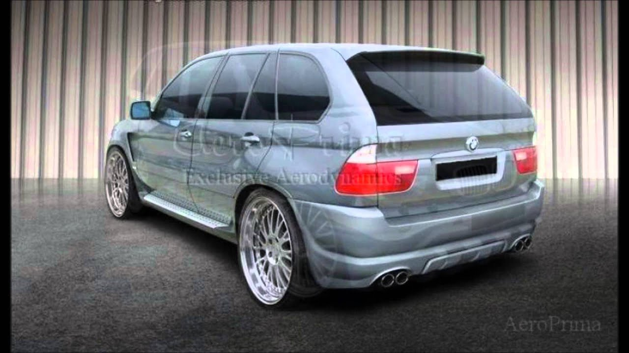 bmw x5 e53 tuning body kit youtube