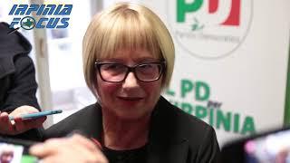 Partito democratico, Provincia e Comune di Avellino, Rosetta D'Amelio a tutto campo