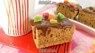 Рецепт пирога с какао в мультиварке  Пошаговый рецепт с фото