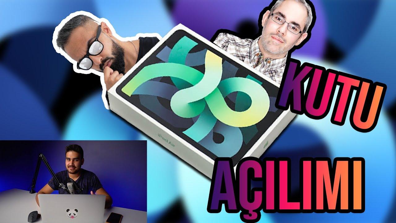iPad Air 4 Kutu Açılımı Yorumlarım !