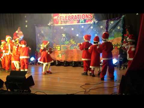 Dashing Through The Snow.....Jingle Bells By Austin Santhosh And Friends