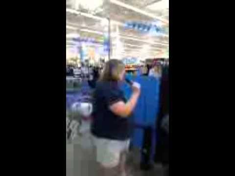 Karaoke at Walmart