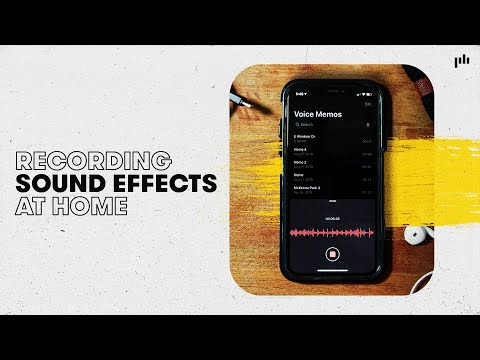 DIY Sound Effects at Home | Sound Effects Tips