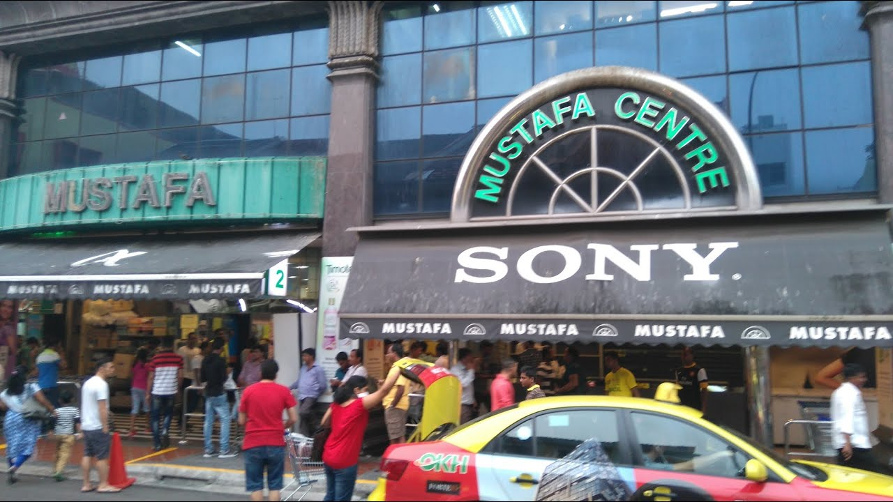 MUSTAFA CENTRE SHOPPING MALL -1 OF 2 சிங்கப்பூர் முஸ்தபா சென்டர்