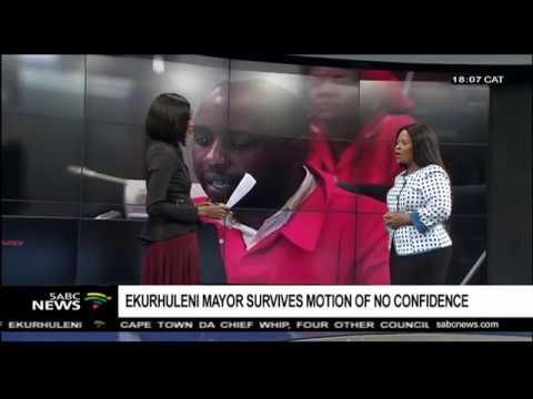 Motion of no confidence in Ekurhuleni mayor: Chriselda Lewis