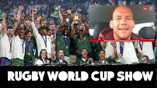Rugby World Cup Show | BJ Botha, Springboks win, Saracens trouble | LIVE