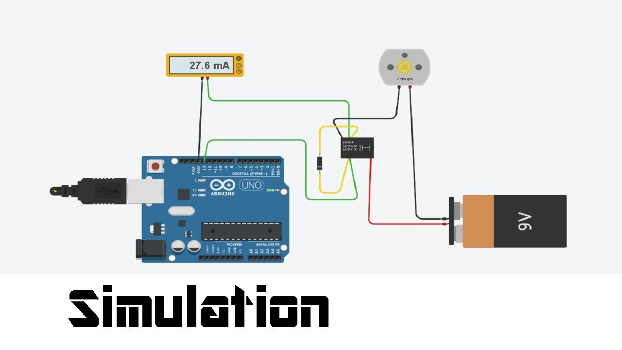 Simulation Of Electrical Circuits And Code In Arduino With Tinkercad Picture Design Simple Online