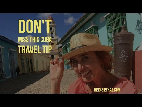 Don't Miss this Cuba Travel Tip from Trinidad Cuba