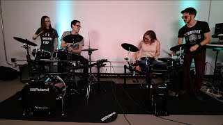 EXCLUSIVE ROLAND EVENT ft. YOUTUBER DRUMMER FRIENDS!!!