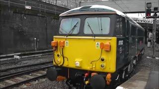 Caledonian Sleeper 87002 & 86101 at London Euston | 02/04/15