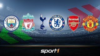 Premier League: Die Big Six im großen Transfercheck | SPORT1