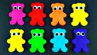 Play-Doh Gummy Bear Surprise Eggs Thomas Tank Engine My Little Pony Cars Lalaloopsy Teddy FluffyJet
