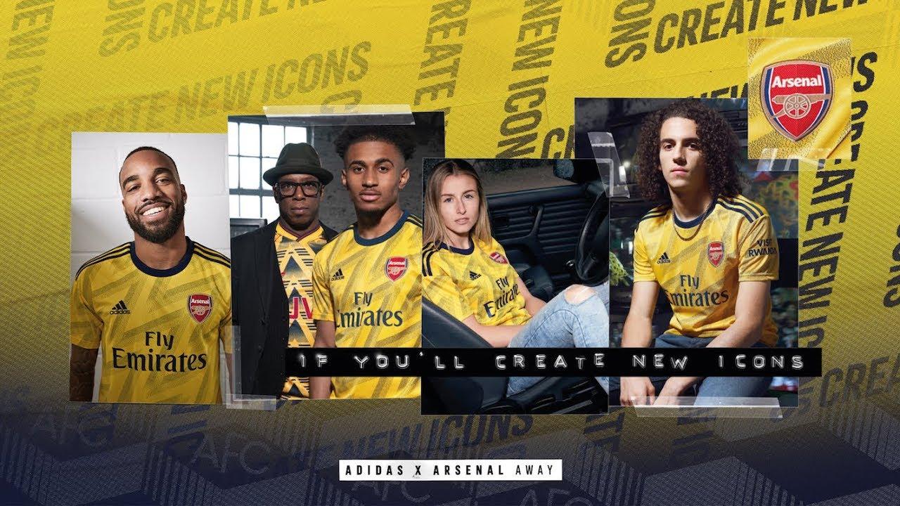 adidas x Arsenal | Introducing the Arsenal 2019/20 away jersey