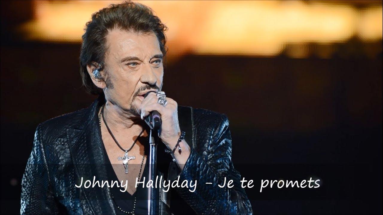 Johnny hallyday je te promets paroles youtube for Dabs je craque parole