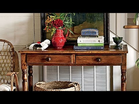 Antiques Roadshow | Decorating with Console Tables