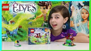 Lego Elves - Farran And The Crystal Hollow Review - New Elf And Magic Set!