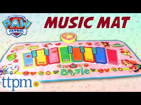 Paw Patrol Electronic Music Mat for Toddlers [REVIEW] | Jakks Pacific Toys