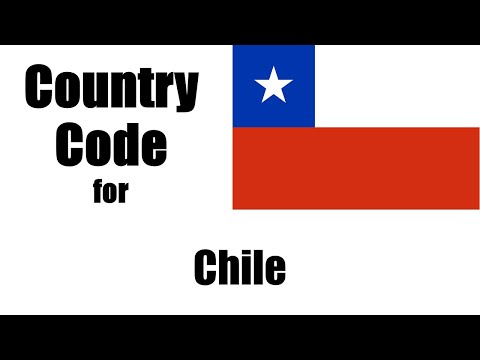 Chile Dialing Code - Chilean Country Code - Telephone Area Codes In Chile