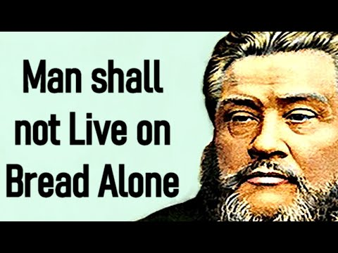 Living on the Word - Charles Spurgeon Sermon