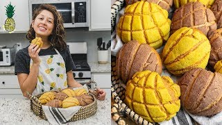 How To Make Vegan Conchas (Mexican Sweet Bread)