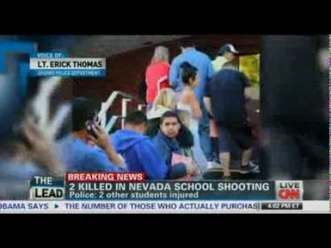 Nevada Sparks Middle School 2 killed 2 injured Gunman Middle School Student Bullied Fights back