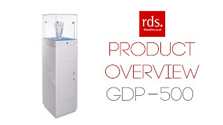 Gdp-500 White Centrepiece Jewellery Display Cabinet