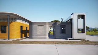 Siedlung aus dem 3D-Drucker: Konzept für Nothilfe