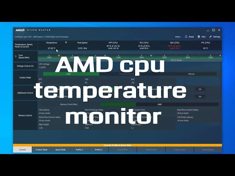 Amd CPU Temp Monitor