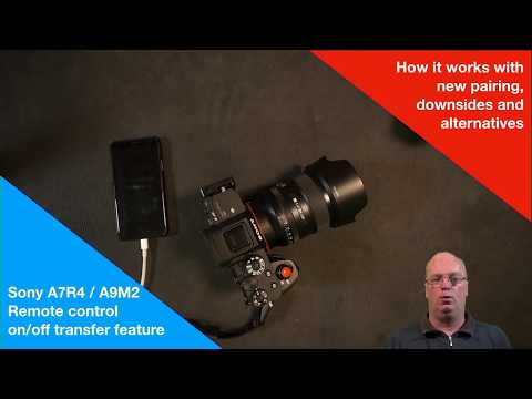 Sony A7R4 / A9M2 remote on/off feature