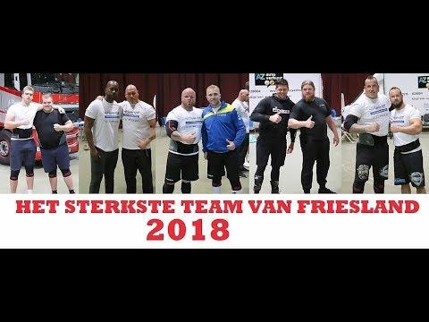 Het Sterkste Team (mannen) Van Friesland 2018 (In Het WTC Leeuwarden).