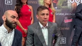 Gennady Golovkin Boxingtalk Roundtable
