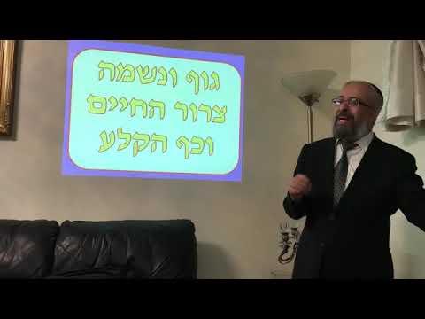 הרב ינון קלזאן הרצאה ברמה גבוהה על ״כף הקלע״ חובה לצפות