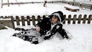 Кароче развлечения со снегом