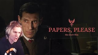 xQc Reacts to PAPERS, PLEASE - The Short Film (2018) | with Chat!